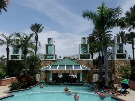 moody gardens hotel hotel pool with swim up bar picture of moody gardens