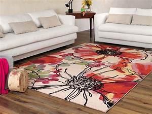 capri 32041 tapis moderne fantaisie en differentes With des tapis modernes