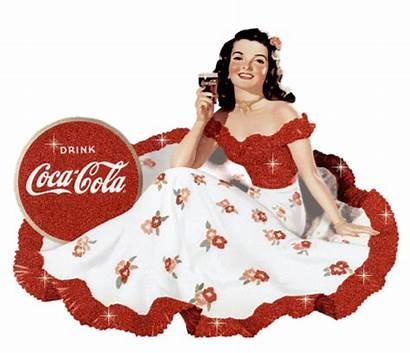 Cola Coca Lady Jewess Sparkling Mad Ad