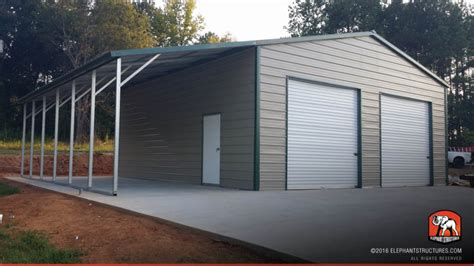 mission style wall metal garages for sale order customized metal garage and kits