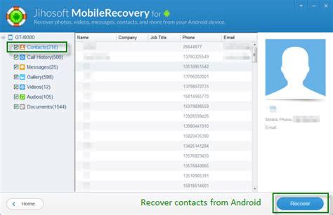wie kann man geloeschte kontakte aus android wiederherstellen