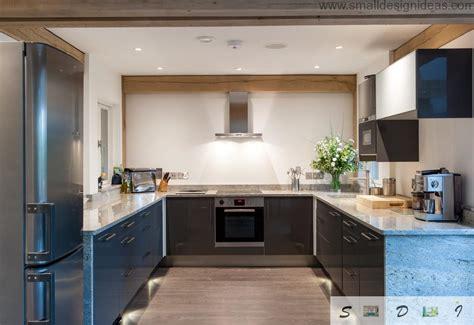 kitchen island tops modern medium and large kitchen layout ideas