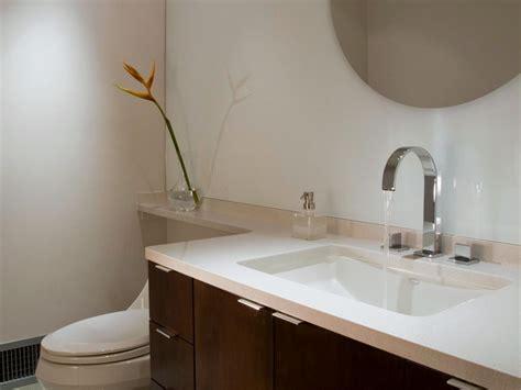 Solidsurface Bathroom Countertop Options Hgtv