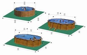 piscine gre hors sol aspect bois montage facile piscine With piscine hors sol beton aspect bois