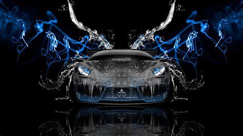 lamborghini murcielago front water car  el tony