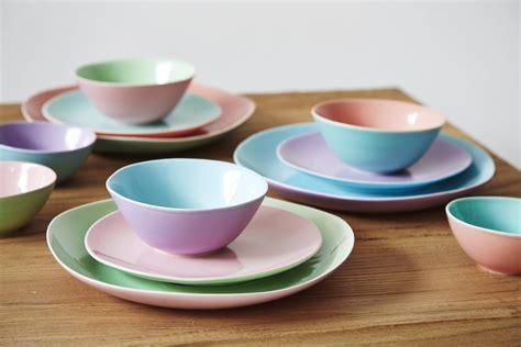 Geschirr Keramik by Keramik Geschirr Quot Two Tone Quot Bauemotion De