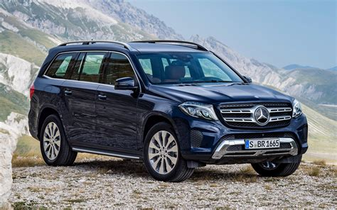 Mercedes Gls Class Backgrounds by 2016 Mercedes Gls Class Wallpapers And Hd Images