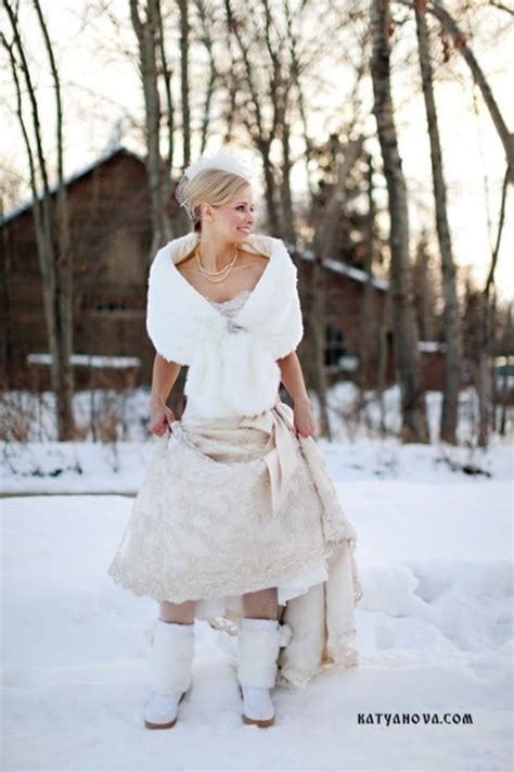 awesome winter wedding shoes  boots youll love