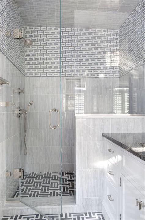 white and gray shower tiles design decor photos