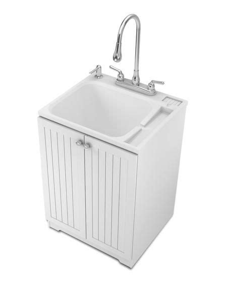 small utility sink with cabinet small sinks for laundry room sink utility