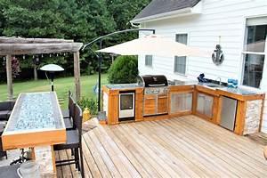 Modern, Rustic, Outdoor, Kitchen