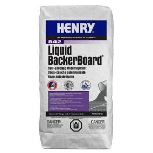 tile underlayment membrane vs backer board henry 542 liquid backer board 40 lbs self leveling