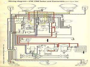 Wiring Diagram For 1974 Vw Super Beetle