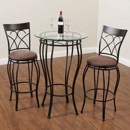 hazelwood home 3 piece pub table set walmart com new
