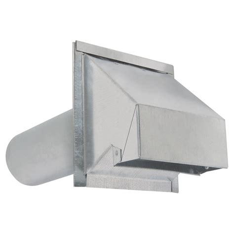ventilation hotte cuisine sortie de ventilation murale en acier galvanisé r2 rona