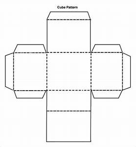 cube template 8 free pdf doc download With 3 dimensional cube template