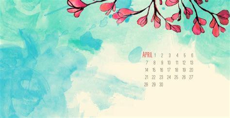 april  calendar wallpaper  background calendar