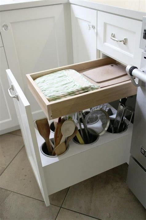 kitchen utensil storage make a clever lazy susan kitchen utensil storage diy 3424