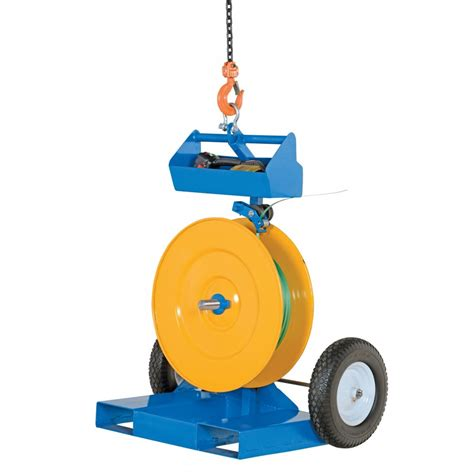 vestil strap fp industrial duty strapping  banding cart  poly  steel strapping