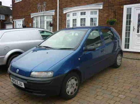 fiat punto 2001 fiat 2001 punto 1 2 blue nice little car 1 day auction