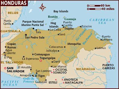 cities  honduras