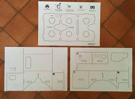 vr cardboard template cardboard scratchdiamond
