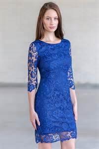 robe de mariã e avec manche dentelle robe soirée bleue courte en dentelle à manches courtes colonne robespourmariage fr
