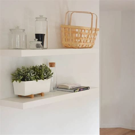 ikea lack floating shelf xcm white nordic chill