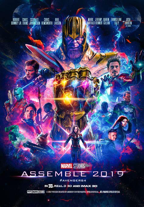 Avengers 4 Fan Posters Tease Endgame | Cosmic Book News