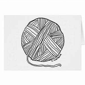 ball of wool Colouring Pages