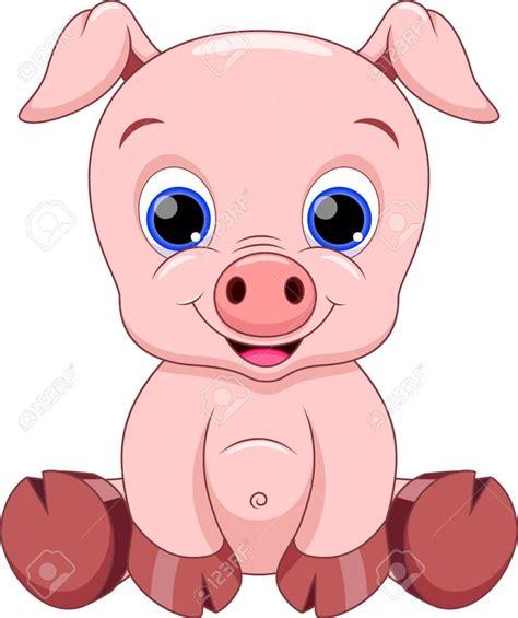 Pig Clip Baby Pig Royalty Free Cliparts Vectors And
