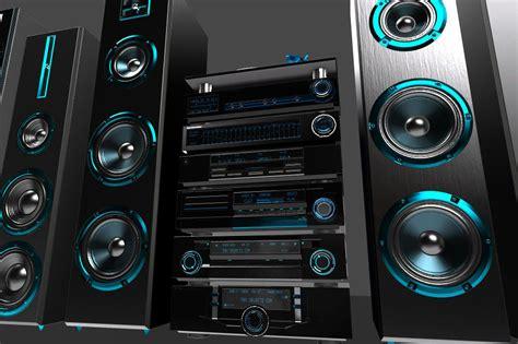 3D model HI-FI Audio components pack VR / AR / low-poly ...