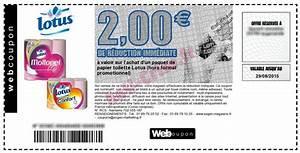Bon De Reduction Lustucru : bon plan lotus papier toilette presque gratuit catalogues promos bons plans economisez ~ Maxctalentgroup.com Avis de Voitures