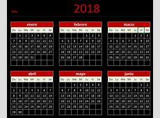 Descarga tu Calendario 2018 en Excel — Blog Aplica Excel