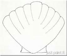 Seashell Template Imag...