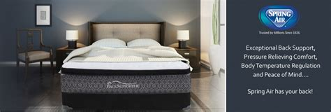 spring air  supporter series solace mattress