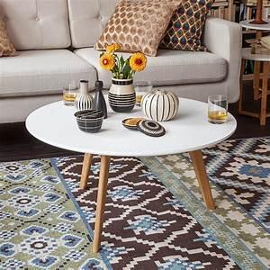Drahtkorb Tisch Weiß : eine runde sache runde designer couchtische designs2love ~ Yasmunasinghe.com Haus und Dekorationen