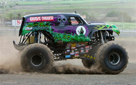 how many monster trucks are there in monster jam going for a ride in grave digger video motor trend