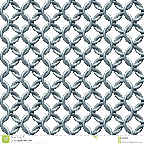 Email Template Pattern by Seamless Chainmail Texture Stock Images Image 2208884