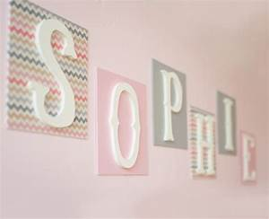 custom fabric love wall letters girl by new arrivals inc With lovely wall letters