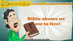 Devotions For Kids   Vol  1 God U0026 39 S Instruction Manual