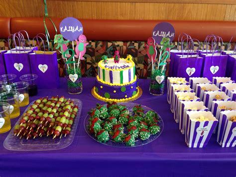 Barney Birthday Party Theme. Barney Party Ideas. Barney