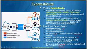 Azuretalk  Azure Networking Part 3  Expressroute