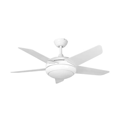 fans neptune ceiling fan 44 inch white with led light