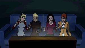 YOUNG JUSTICE Ladies Cameo In SCOOBY-DOO! WRESTLEMANIA MYSTERY