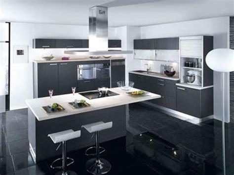 implantation cuisine ouverte deco cuisine moderne