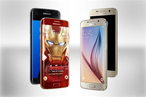 samsung galaxy s7 vs galaxy s6 specifications and features comparison