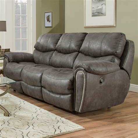 power reclining sofa with usb ports franklin richmond power reclining sofa with usb charging