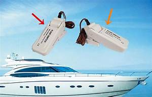 12v  24v Bilge Pump Automatic Float Switch
