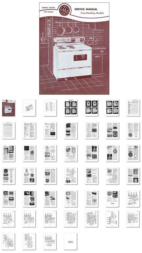 Kitchen Range Library 1959 General Electric Range Oven
